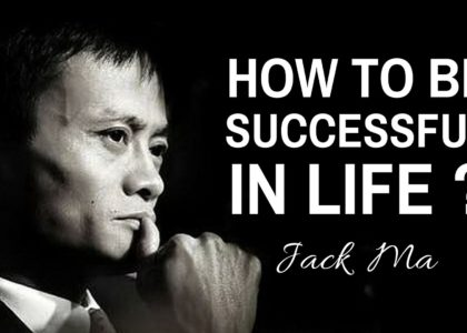 jack ma on how to be successful in life