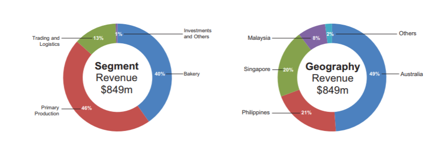 qaf biz segments revenue by geography